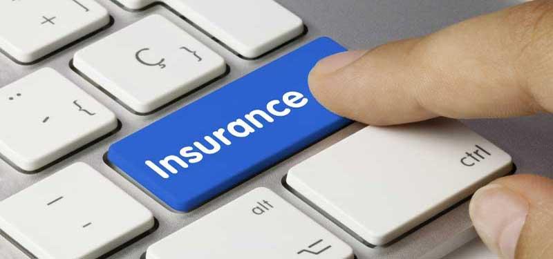 Κουμπί insurance που σχετίζεται με την ασφάλιση εμπορευμάτων