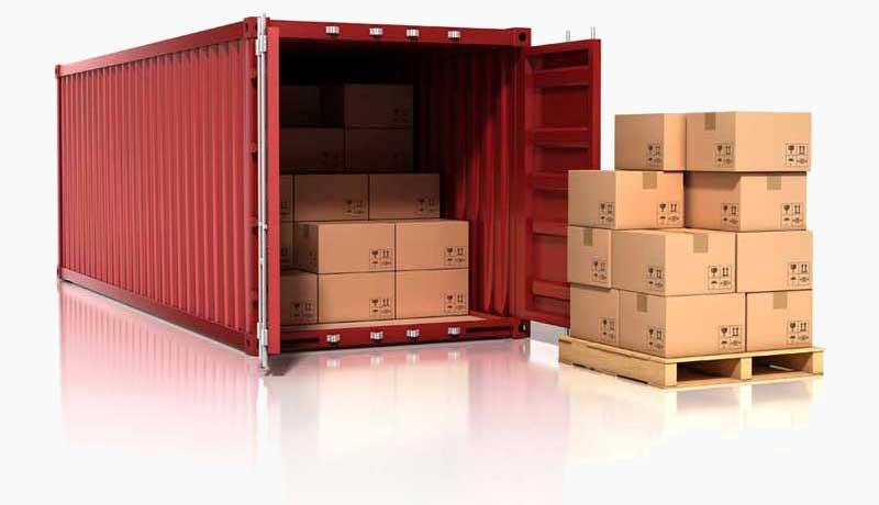 Container που χρησιμοποιείται για μεταφορές στην Κύπρο