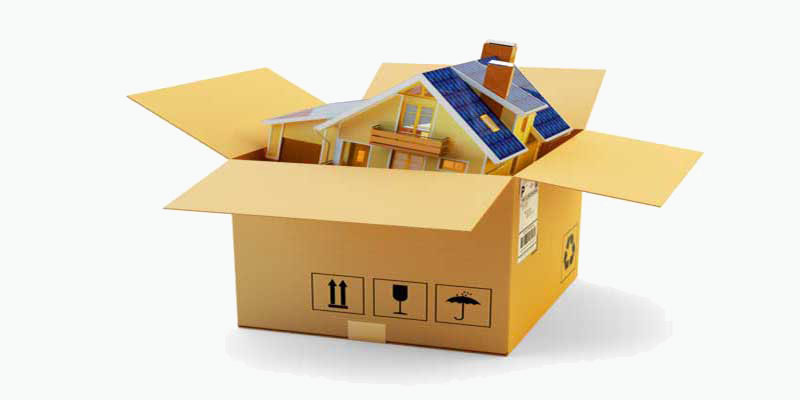 Κουτί που χρησιμοποιείται για την μεταφορά οικοσκευών